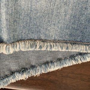 STS Blue Shorts - STS blue mid waist denimshorts Sz 27 NWT raw edge